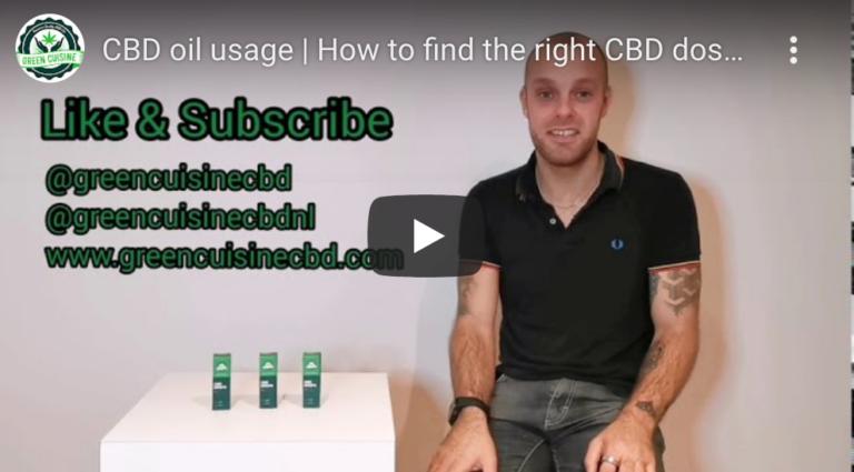 cbd dosering