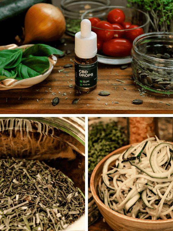 Cooking with cbd vegan italian courjetti 5