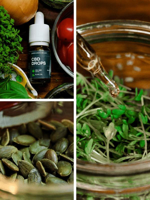 Cooking with cbd vegan italian courjetti 6