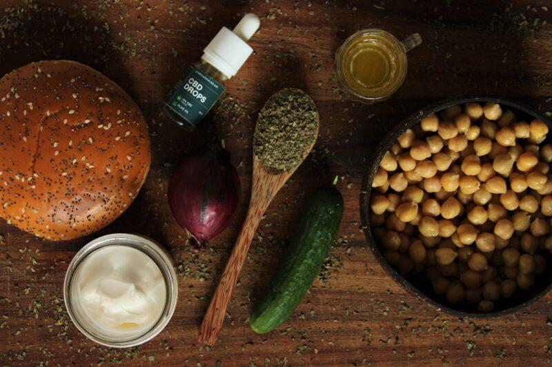 Ingredients CBD Tuna sandwich