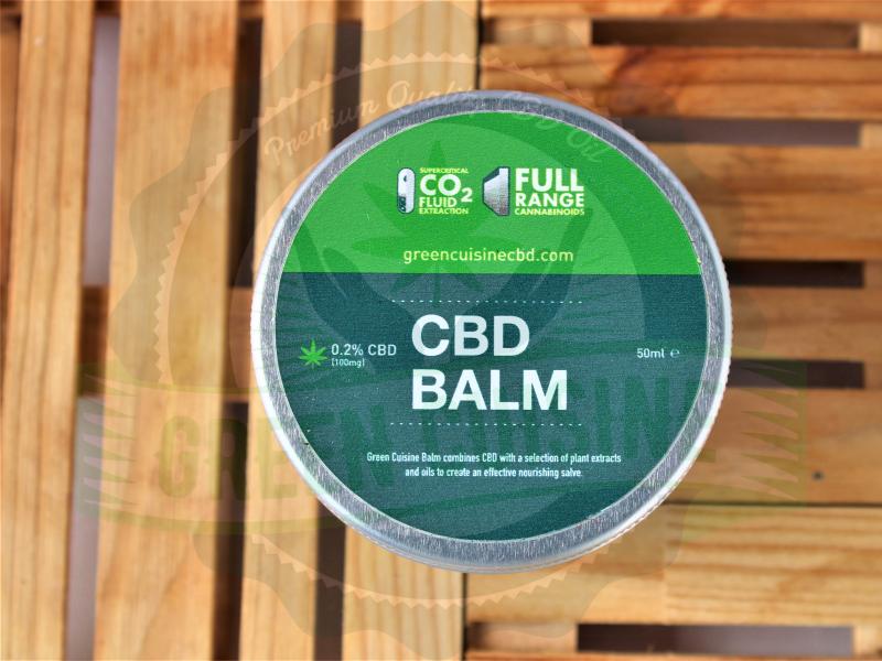 Green Cuisine CBD Balm