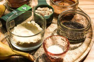 Vegan Chocolate CBD Protein Shake ingredients